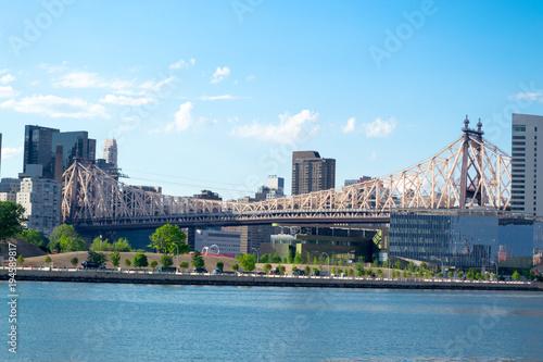 Queensboro bridge from Long Island City Canvas Print