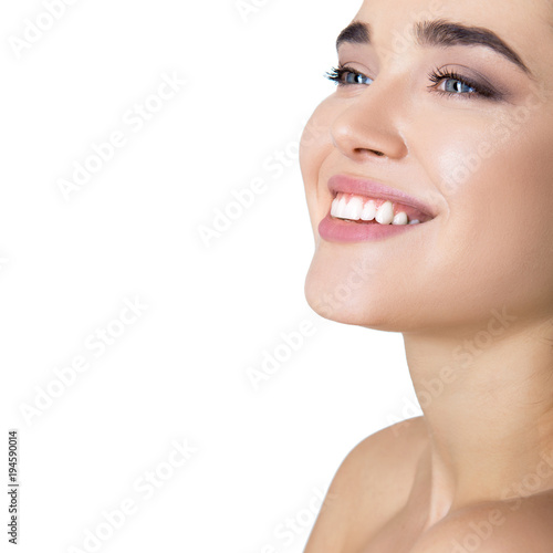 Beauty female portrait Poster