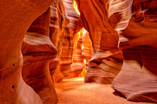 Antelope Canyon Lights Arizona Usa