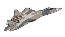 Modern Russian Jet Fighter Air...
