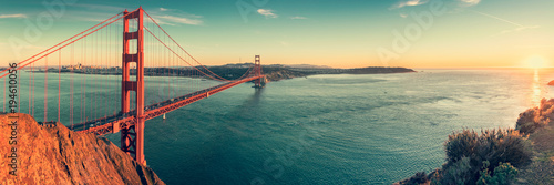 Foto op Plexiglas San Francisco Golden Gate bridge, San Francisco California