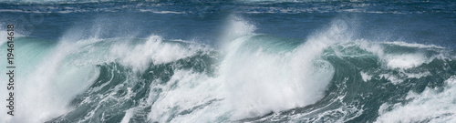 Foto op Canvas Zee / Oceaan big sea wave