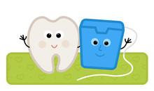 Floss And Tooth - Cute Clip-ar...