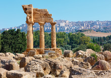 Valley Of Temples, Agrigento, ...