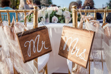 Mr And Mrs Wood Painted Signs ...