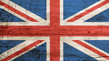 Old Vintage UK British Flag Ov...