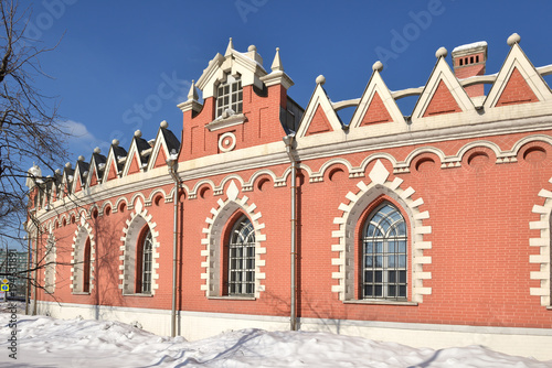 Petrovsky Palace was built for Catherine Great and designed by