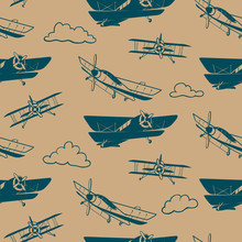 Seamless Vector Pattern With V...