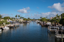Smooth Waterway View With Dock...