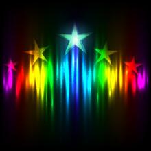 Rainbow Hollywood Stars Rise Up