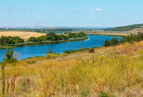 Printed kitchen splashbacks River Summer Southern Bug river, Ukraine