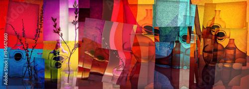 Fototapety do sypialni  kolory