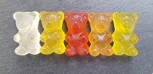 Various Colored Gummy Bears In...
