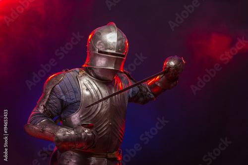 Fotografía warriors knights in armor