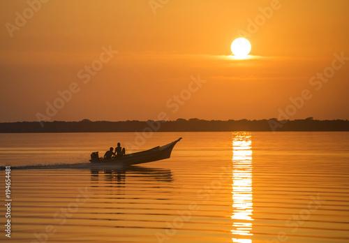 Photo Stands South America Country Lake Maracaibo, Venezuela