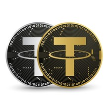 Tether Digital Currency Vector