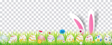 Happy Easter Image Vector. Mod...