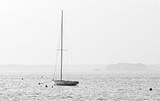 Jezioro Lacanau w czerni i bieli - 194701099