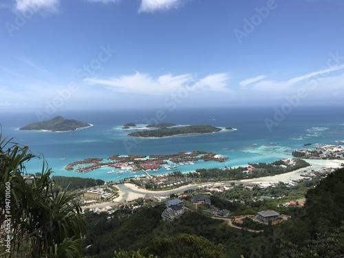 Fototapety, obrazy: Ausblick auf Eden Island, Mahe, Seychellen
