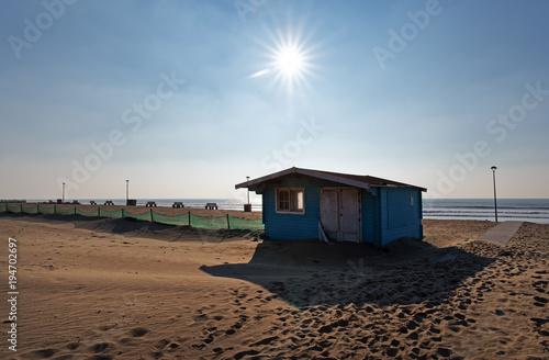 Papiers peints Cappuccino plage d'Hourtin sur le littoral de Gironde