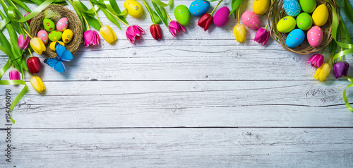 Easter background Wallpaper Mural