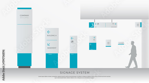 Fotomural exterior and interior signage system