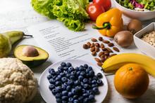Balanced Diet Plan With Fresh ...
