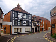 View Of Old Tudor Houses In Te...