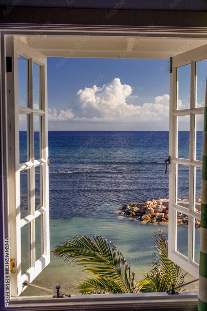 Fototapeta Room with a view, Jamaica, Caribbean