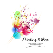 Idea For Painting And Wine Eve...