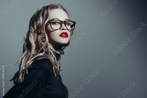gorgeous with glasses