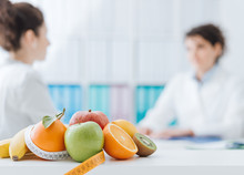 Nutritionist Meeting A Patient...