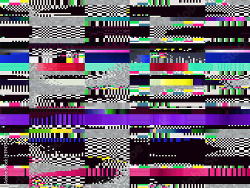 Glitch Computer Screen Data Tv Error Background 2 Buy This Stock