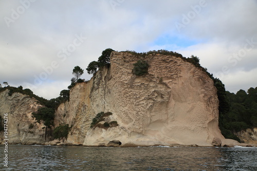 Foto op Canvas Cathedral Cove Famous Cathedral Cove area in Coromandel in New Zealand
