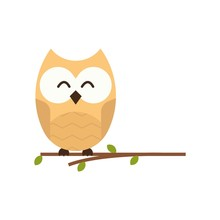Owl Vector Template Design