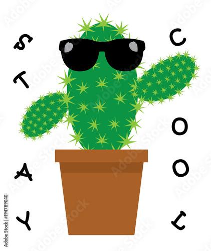wektor-zabawny-kaktus