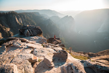 The Sunset At Taft Point Is Pr...