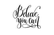 Believe You Can - Hand Letteri...