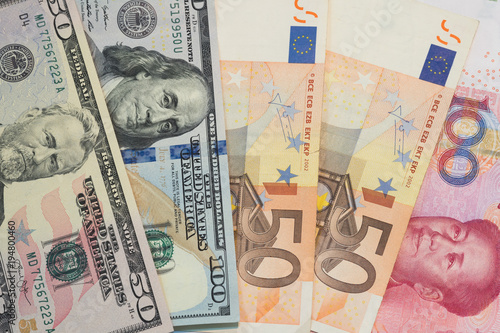 Currencieoney Exchange Trading Concepts From Several Diffe Country Pile Of Various Currencies Us