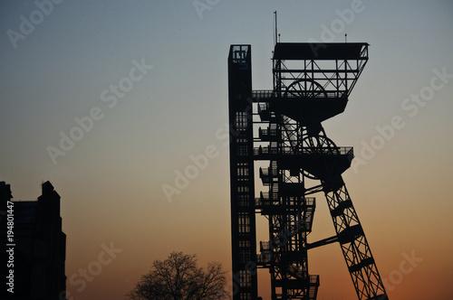 Szyb górniczy kopalni Katowice