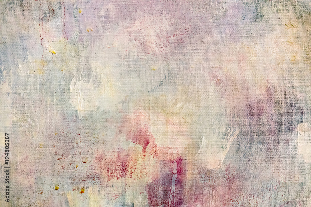 Fototapety, obrazy: weathered abstract art background with paint splashes and blots