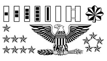 Military Army Officer Rank Insignia