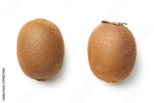Valokuva Kiwi Fruit Isolated on White Background