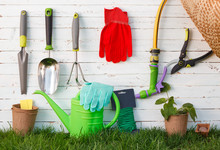 Gardening Tools And Utensils O...