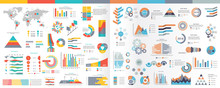 A Collection Of Infographic El...