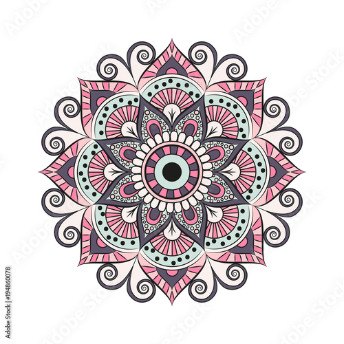 Photo  Flower Mandala