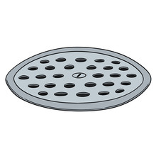Vector Of Cover The Drain