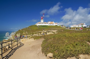 Fototapeta na wymiar Cabo da Roca viewpoint