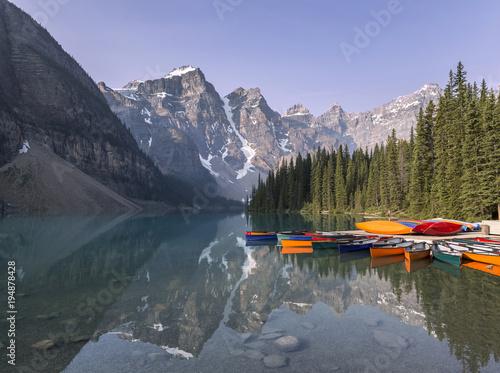 Fotobehang Canada Moraine Lake, Banff National Park, Canada