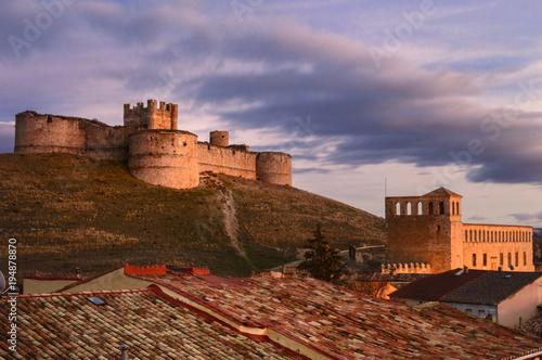 Castillo y Palacio de los Marqueses de Berlanga , Berlanga de Duero, Soria, España